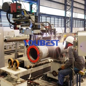 Offshore Automatic Pipe Welding Machine For Pipe Spool Prefabrication