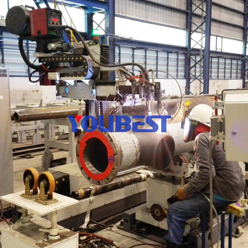 Offshore Automatic Pipe Welding Machine For Pipe Spool Prefabrication Featured Image
