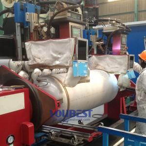 Obwodowe Seam Automatyczne zgrzewarki do Pressure Vessel
