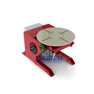 Tiltable Electric Welding Positioner