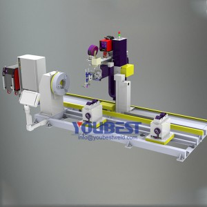 Headstock Positioner Type Automatic Pipe Welding Machine