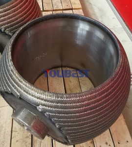 Hot Wire Weld overlay cladding For Ball Valves