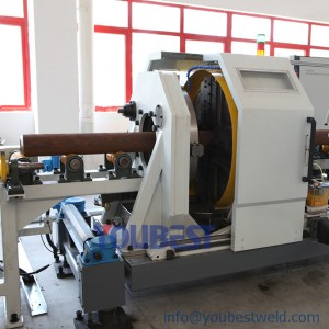 Pipe Spool Pre-fabrication Station-Pipe Cutting & Beveling Machine
