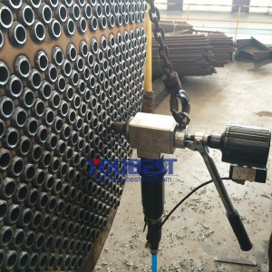 Portable High Speed Pipe Facing Machine for Heat Exchanger