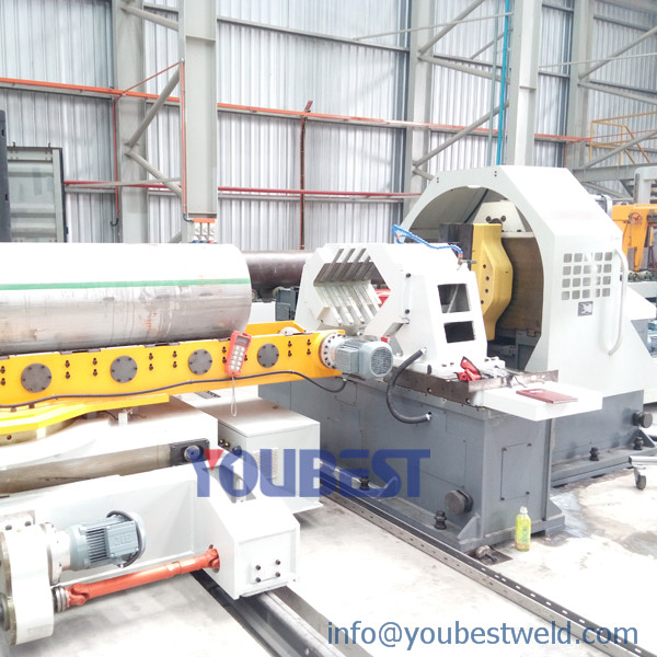 Pipe Spool Pre-fabrication Station-Pipe Cutting & Beveling Machine Featured Image
