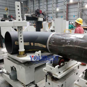 Steel Pipe Spool Fast Fit up Machines 26″-60″