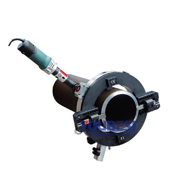 Listrik Orbital Pipe Cutting & Beveling Mesin Unggulan Gambar