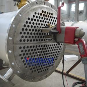 Orbital Tube Welding Head for Heat Exchangers
