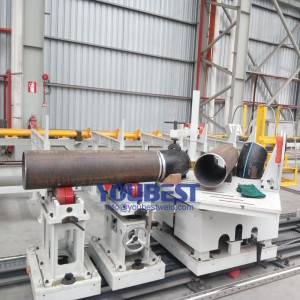 8″-24″ Carbon Steel Pipeline Offsite Fabrication Solution in Workshop