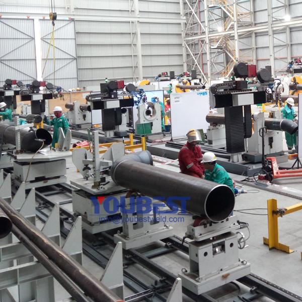 Atelier d'automatisation tuyau Spool système de fabrication Photo descriptive